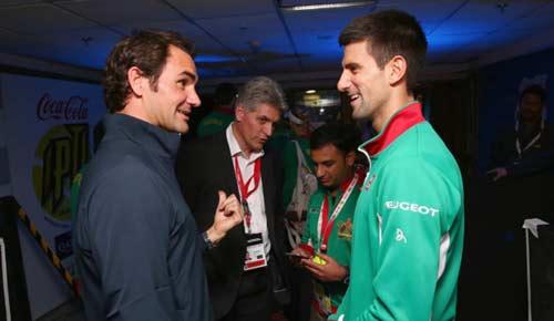 Federer – Djokovic: 8 lạng gặp nửa cân (Giải tennis Ngoại hạng) - 1
