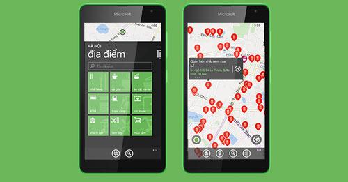 Cốc Cốc ra mắt ứng dụng địa điểm trên Windows Phone - 1
