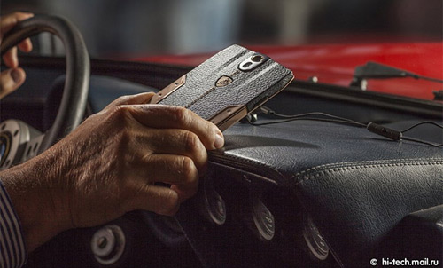 """Siêu smartphone"" Lamborghini Tauri 88 giá 6.000 USD - 1"
