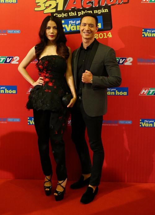 Kim Lý hộ tống Trương Ngọc Ánh đi trao giải phim ngắn - 1