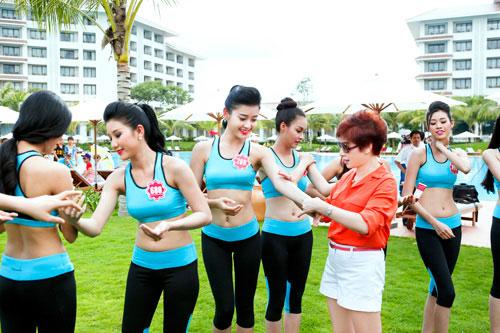 Đóng góp thầm lặng cho thành công cuộc thi HH Việt Nam 2014 - 1