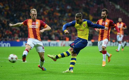 Galatasaray – Arsenal: Hàng công rực sáng - 1