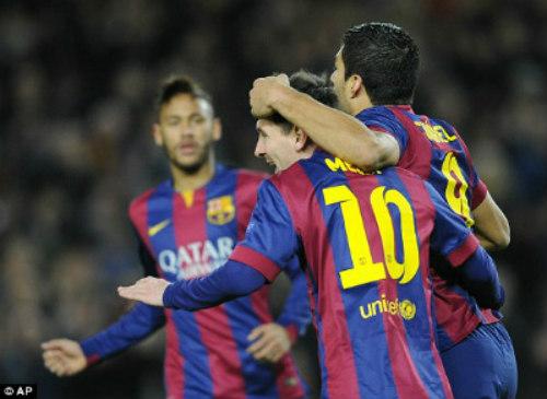 Barca - PSG: Tam tấu tỏa sáng - 1