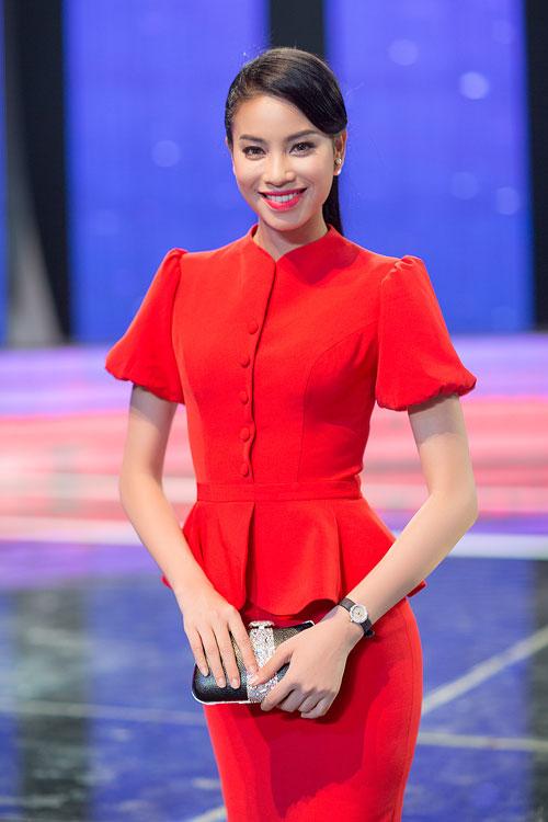 Phạm Hương vẫn rạng ngời sau thất bại tại HHVN 2014 - 1