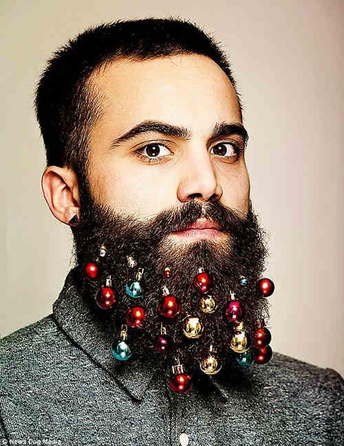 Bộ trang trí Giáng sinh dành riêng cho...râu - 1