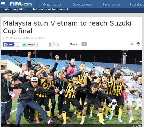 Báo chí nước ngoài ngợi ca Malaysia hạ gục ĐT Việt Nam - 1