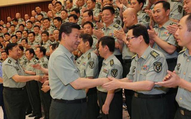 Chủ tịch Tập Cận Bình răn đe quân đội về nạn tham nhũng - 1