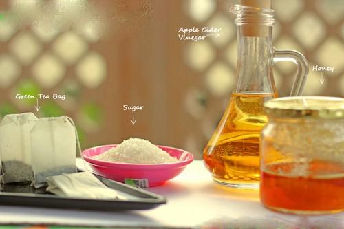 Mịn da, sạch mụn với mặt nạ giấm táo - 2