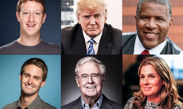 """400 người giàu nhất Mỹ """"ôm"""" thêm 50 tỉ USD - 1"""