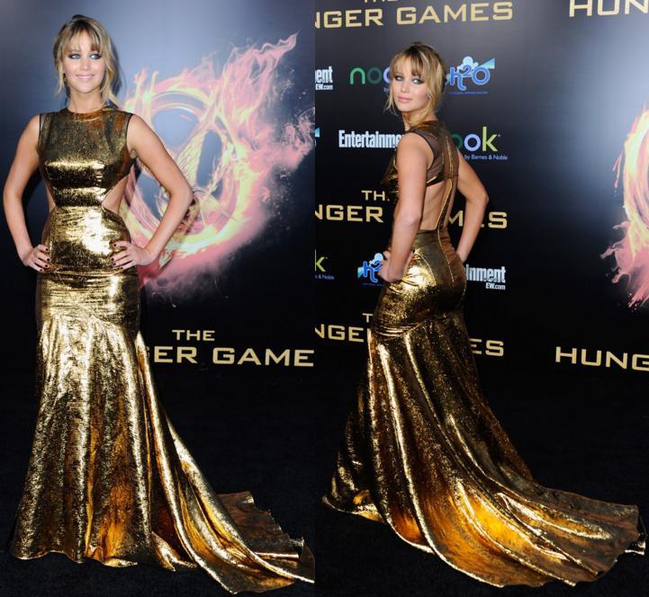 """Hành trình mặc """"đẹp dần đều"""" của Jennifer Lawrence - 1"""