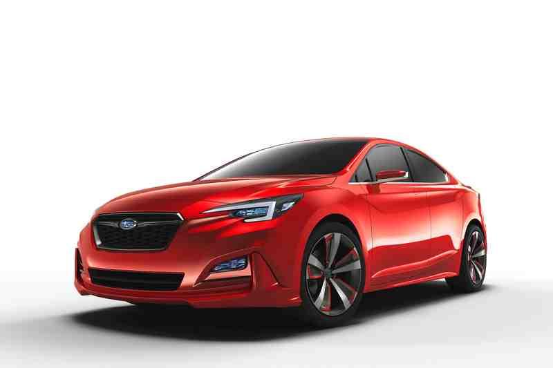 Subaru trình làng mẫu xe Sedan Impreza Concept mới - 1