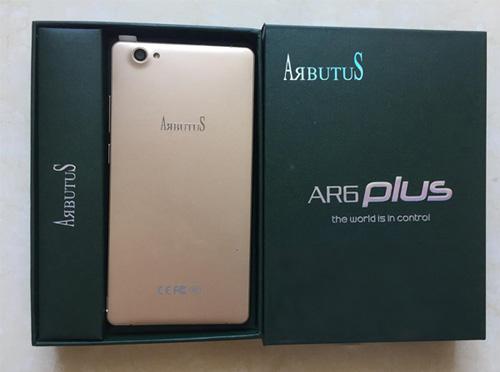 """Arbutus AR6 Plus Phablet thông minh """"nồi đồng cối đá"""" - 1"""