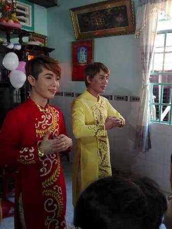 Đám cưới đồng tính gây xôn xao tỉnh Bình Phước - 1