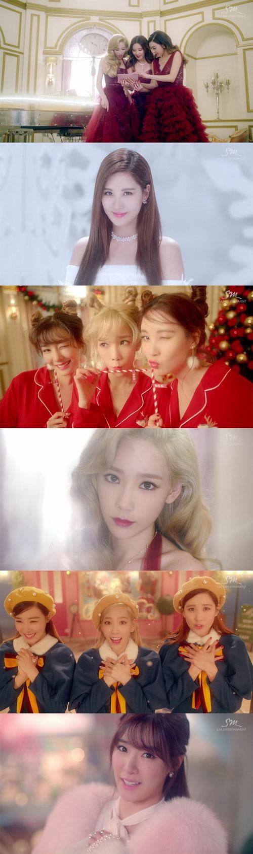 Bộ ba TaeTiSeo (SNSD) tung MV rực rỡ đón Giáng sinh - 1