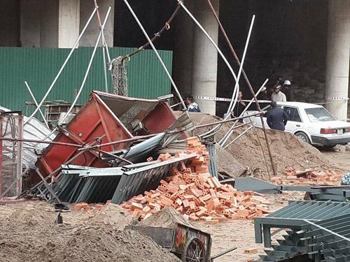 Sập thang vận tải xây dựng: Nạn nhân thứ 3 tử vong - 1