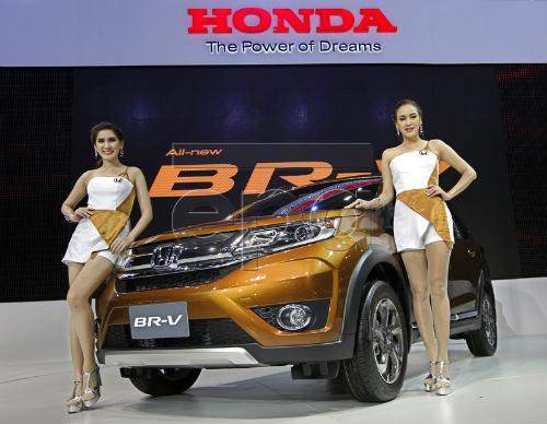 Chi tiết mẫu Honda BR-V 7 chỗ ngồi mới ra mắt - 1