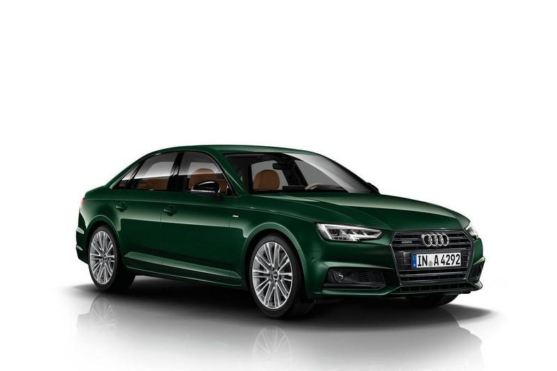 Audi A4 phá cách với màu sơn xanh độc đáo - 1