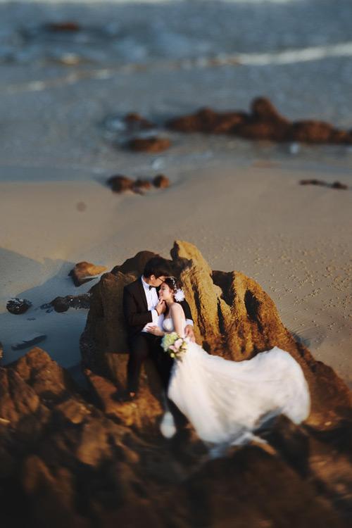 Đẹp mê mẩn bộ ảnh cưới giữa hòn đảo Minh Châu - 1