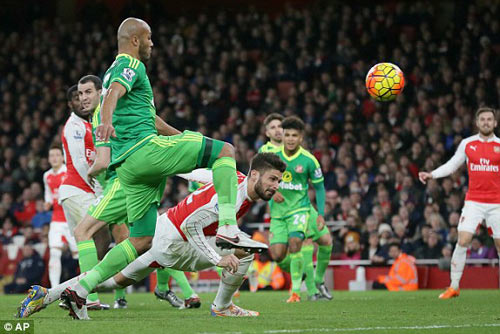 video arsenal vs sunderland - 1
