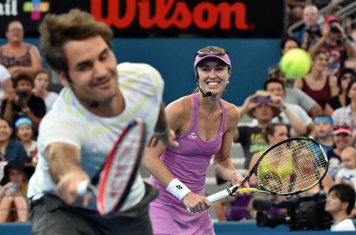 Tin thể thao HOT 6/12: Federer đánh cặp Hingis ở Olympic - 1
