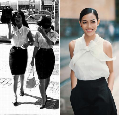 """Sài Gòn xưa và những kiểu mốt """"40 năm vẫn mặc tốt"""" - 1"""