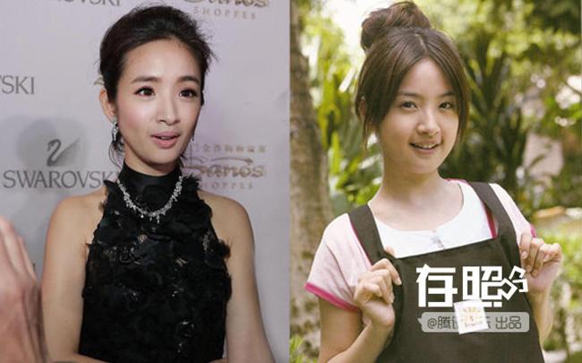 Khi so sánh hình ảnh quá khứ và hiện tại của Lâm Y Thần, khán giả dễ dàng nhật thấy khuôn mặt nữ diễn viên đã khác xưa rất nhiều.