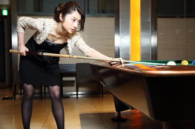Kaori Ebe gặt hái thành tích ở các giải châu Á năm 2008 tại Hàn Quốc hay giải toàn Nhật Bản 2010, pool 9 bóng tại Mỹ 2011, Nhật Bản mở rộng 2013...