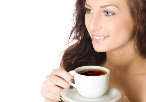 Image result for uống trà sau khi ăn