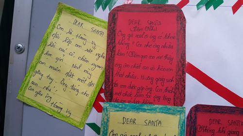 'Phì cười' với 'tâm thư' của bé gửi ông già Noel - 1
