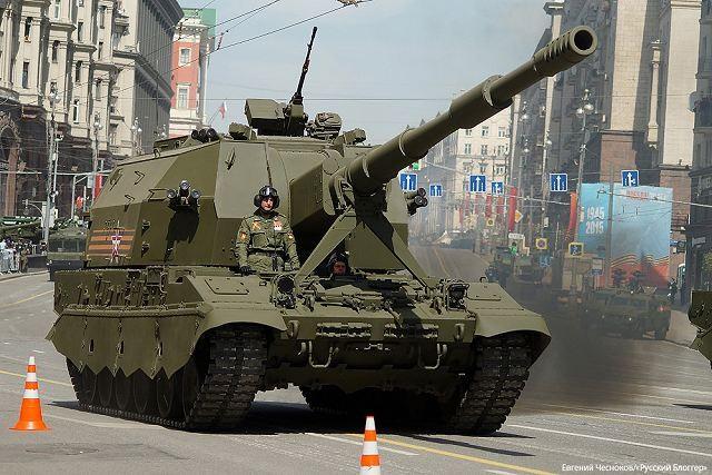 Pháo tự hành Koalitsiya của Nga: Diệt địch cách xa 70km - 1