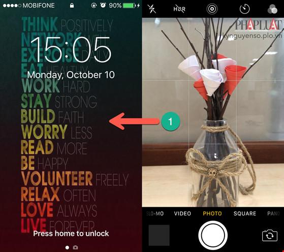 2 mẹo giúp chụp ảnh nhanh hơn trên iPhone - 1