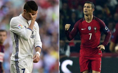 """Tưng bừng ở tuyển, Ronaldo bị cầu """"hết đạn"""" về Real - 1"""