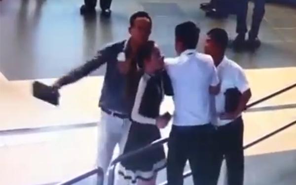 Cán bộ Sở GTVT nói gì về clip đánh nữ nhân viên hàng không? - 1