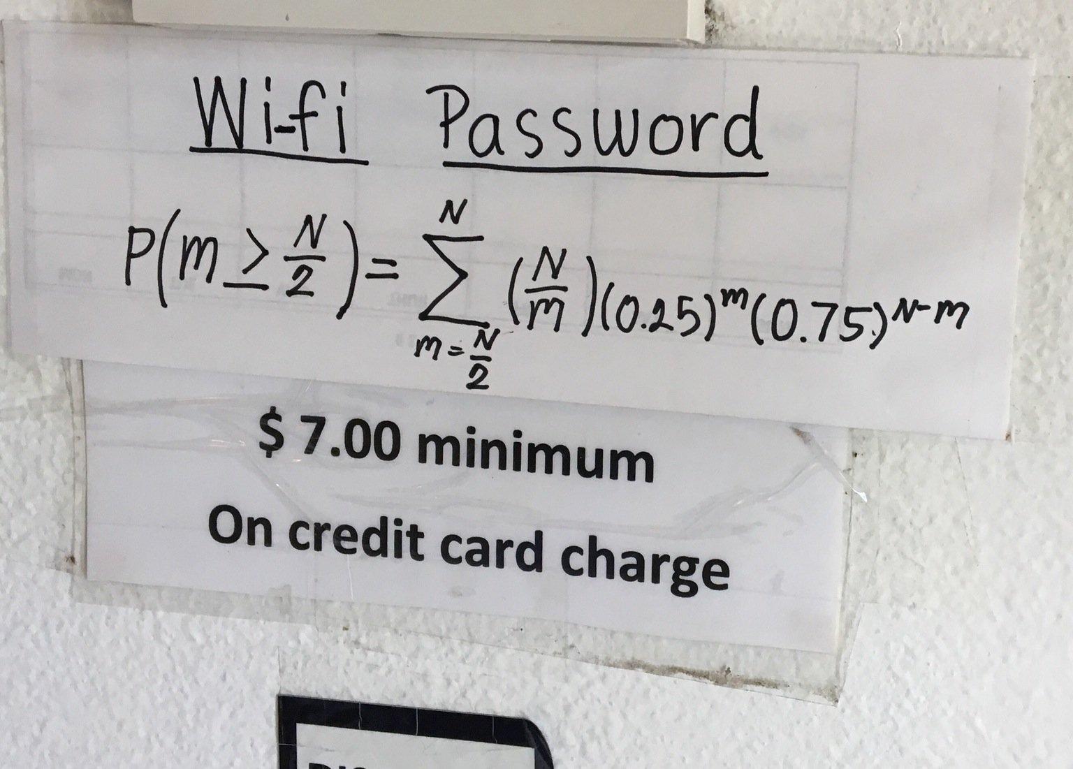 Cửa hàng bắt khách giải bài toán này mới có mật khẩu wifi - 1
