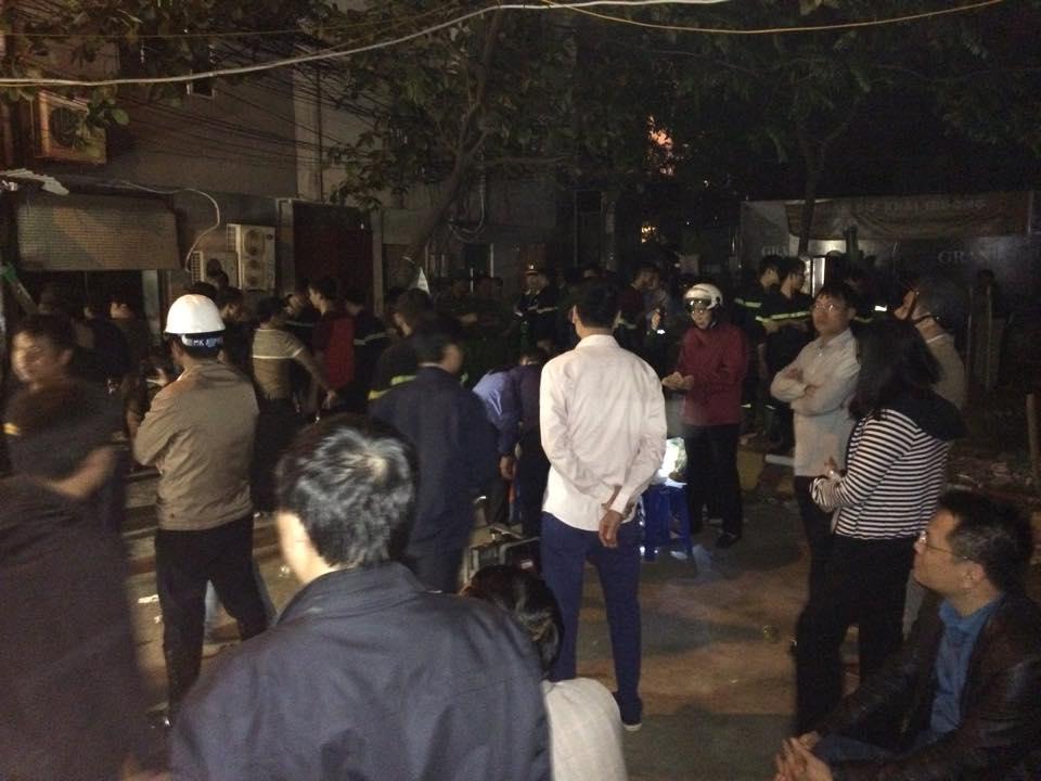 Cháy quán karaoke ở Hà Nội: 13 người đã thiệt mạng - 1