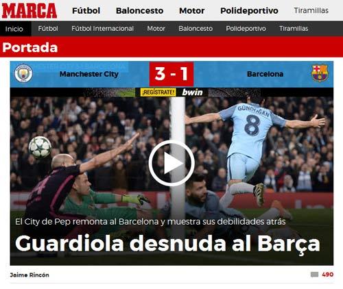 """Báo chí thế giới: Pep Guardiola """"lột trần"""" Barca - 1"""