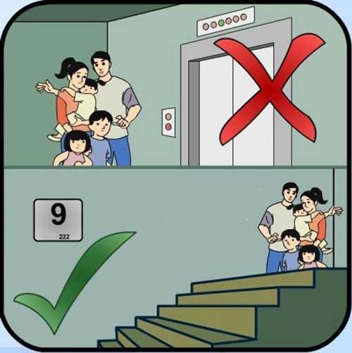 Cách thoát hiểm nhanh lẹ khi bị cháy ở nhà cao tầng - 1