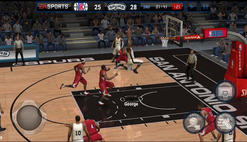 Top 5 trò chơi bóng rổ phù hợp nhất cho Android và iOS - 1