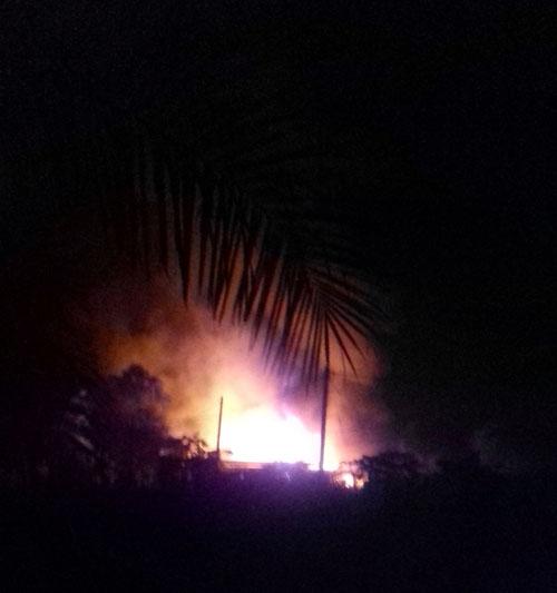 Trại bò sữa ở ngoại ô SG rực lửa sau tiếng nổ chát chúa - 1