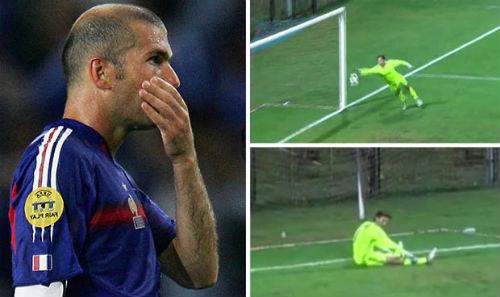 Bắt bóng ngớ ngẩn, quý tử Zidane thành trò cười - 1