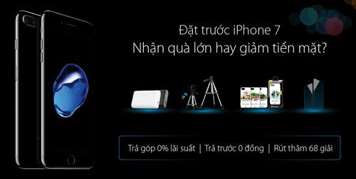 Đặt trước iPhone 7, giảm thêm 2.500.000đ tại Viễn Thông A - 1