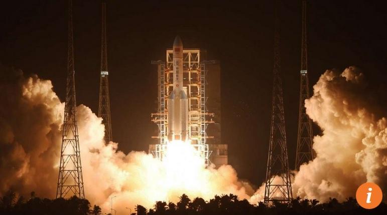 Trung Quốc phóng tên lửa mạnh nhất từ trước tới nay - 1