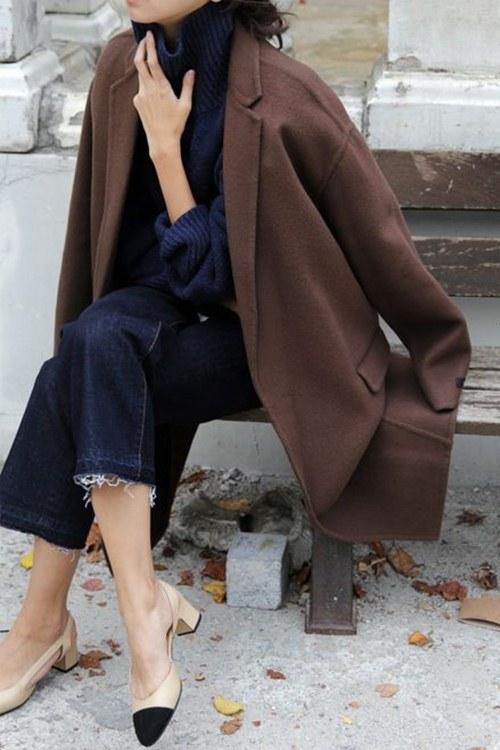 5 cách mặc đẹp thuyết phục với màu nâu trầm - 8