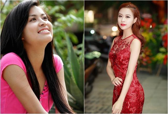 Hoàng Thùy Linh sinh năm 1988 là hot girl đình đám cùng thời với Vân Hugo với vẻ đẹp trong sáng, dễ thương. Sau 10 năm, Hoàng Thùy Linh nay đã là quý cô có phong cách gợi cảm, quyến rũ.