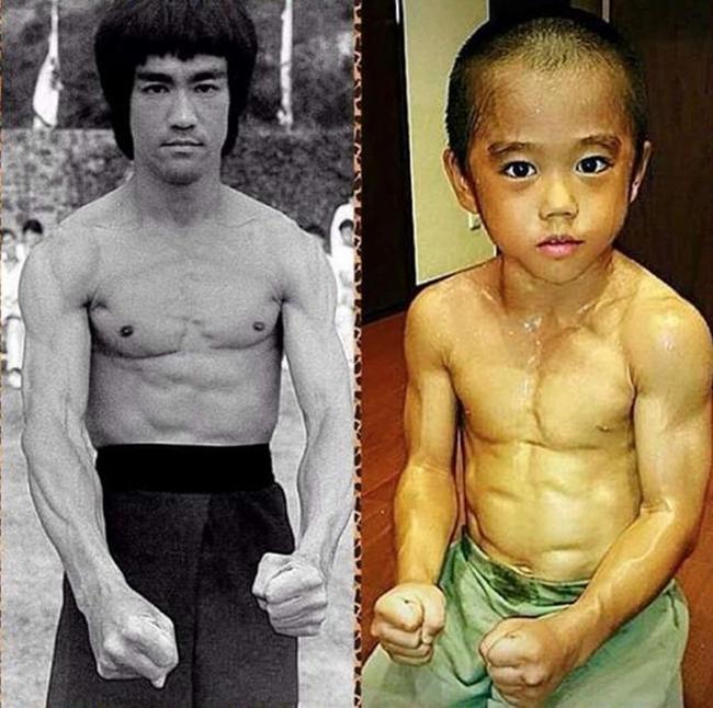 Ryusei Imai, 6 tuổi đến từ Nhật Bản được mệnh danh là truyền nhân Lý Tiểu Long bởi khả năng trình diễn võ thuật cùng gương mặt giống hệt huyền thoại Kungfu Trung Quốc.