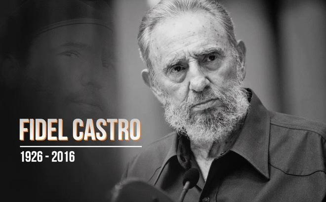 VN tổ chức Quốc tang lãnh tụ Cuba Fidel Castro hôm nay 4/12 - 1