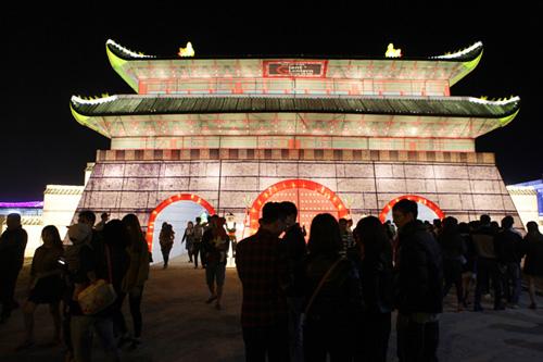Ảnh: Chiêm ngưỡng đèn lồng cao 30m ở Hà Nội - 1
