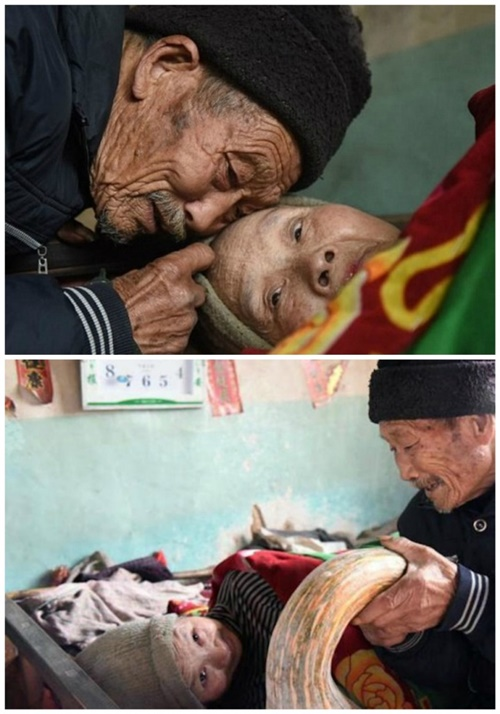 Người đàn ông nguyện chăm sóc vợ liệt giường suốt đời - 1