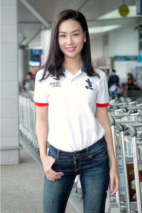 Người yêu Trương Nam Thành đủ chuẩn thi Hoa hậu Du lịch Quốc tế - 1