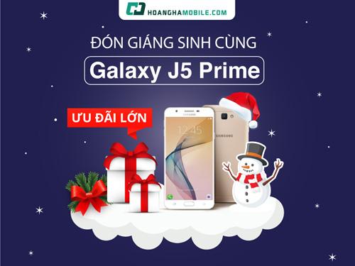 Rinh Galaxy J5 Prime chơi Noel với bộ quà khủng 5 món - 1